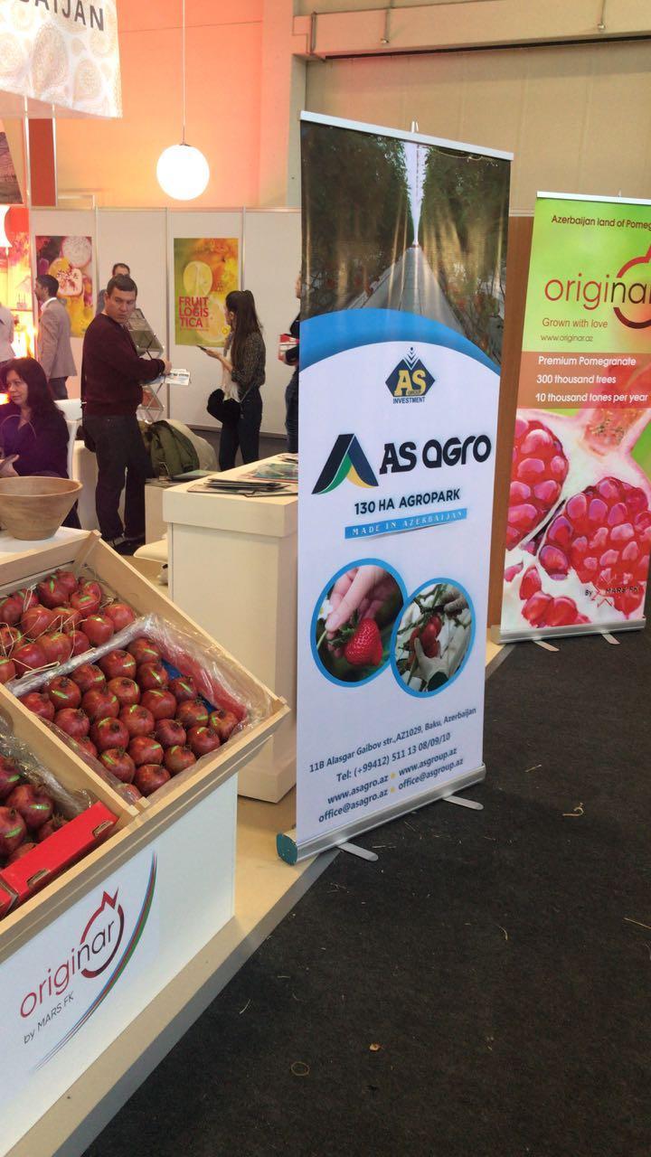 Азербайджанские продукты представлены на фруктово-овощной выставке в Берлине (ФОТО)