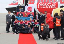 FIFA World Cup Trophy brought to Baku for the first time (PHOTO) - Gallery Thumbnail