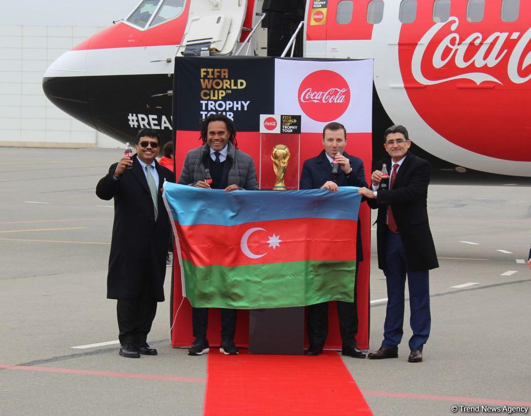 FIFA World Cup Trophy brought to Baku for the first time (PHOTO)