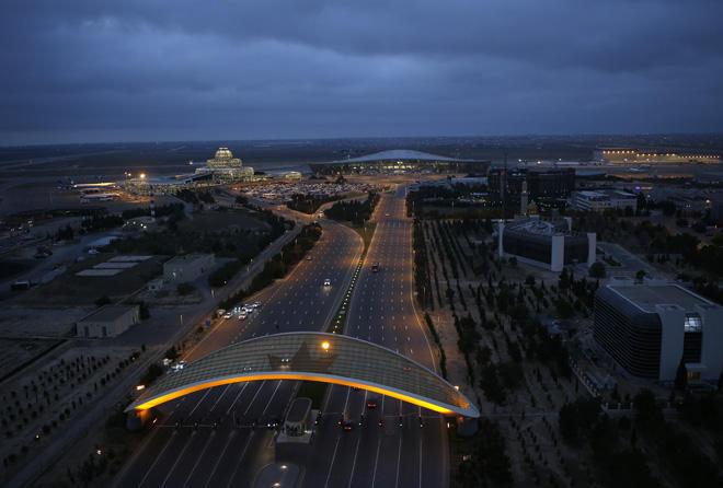 С начала года Международный аэропорт Гейдар Алиев обслужил на 19% больше пассажиров