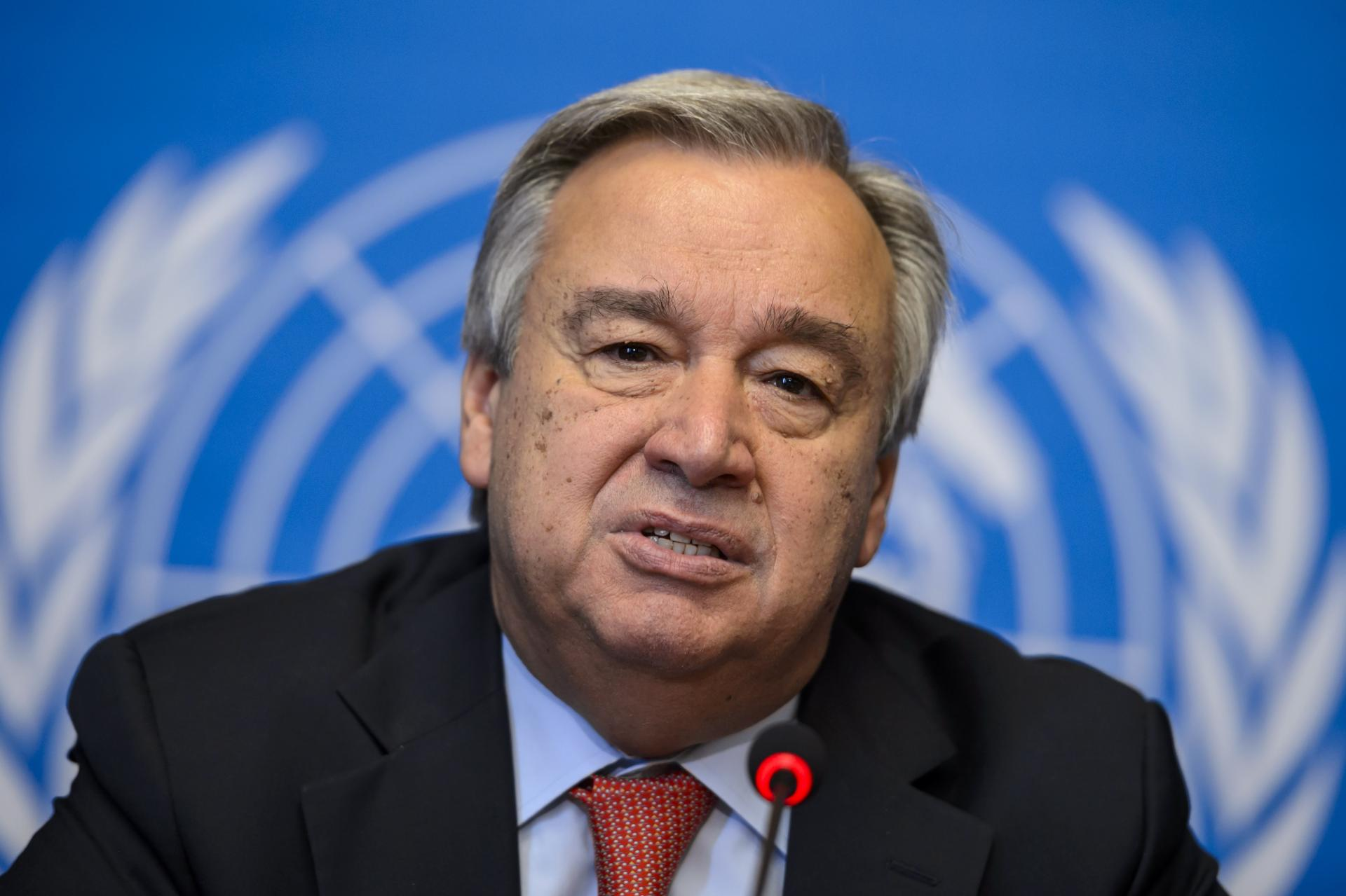 UN secretary-general offers condolences over passenger plane crash in Iran