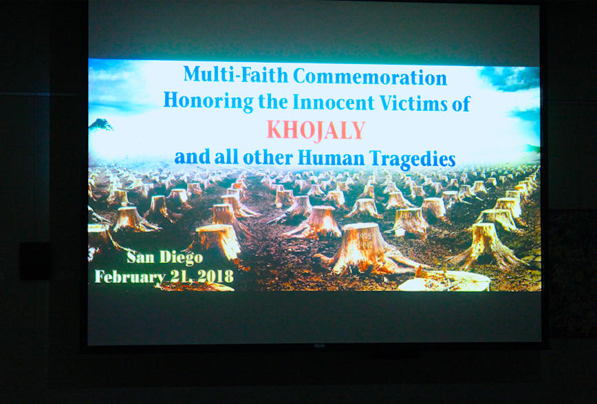 Film on Khojaly Genocide screened in California (PHOTO)