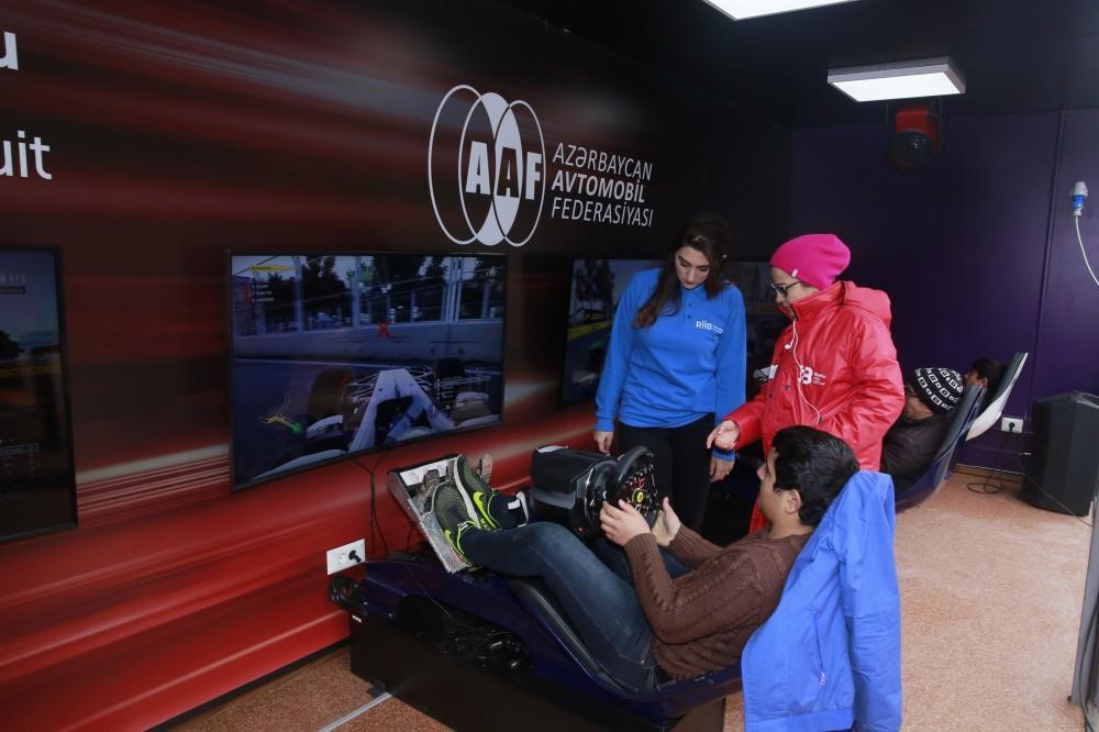 Стал известен победитель Ширванского тура соревнований на гоночных симуляторах  Формулы 1 (ФОТО) - Gallery Image