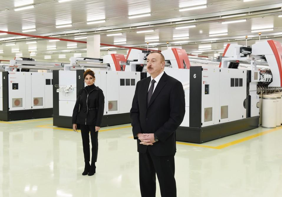 Ilham Aliyev: Azerbaijan is a favorable place to invest