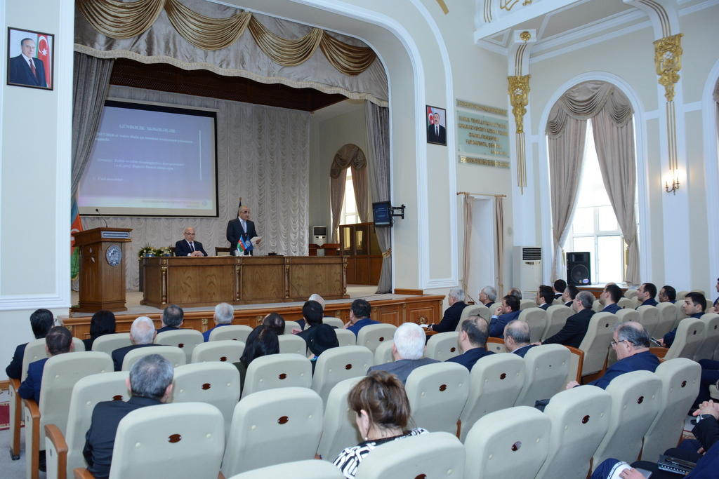 Scientific Council meeting held at UNEC (PHOTO)