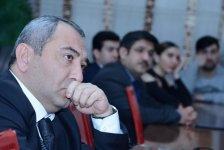 """Обсуждение на """"ISE Economic Talks"""" UNEC: """"Криптовалюты: глобальные призывы и Азербайджан"""" (ФОТО) - Gallery Thumbnail"""