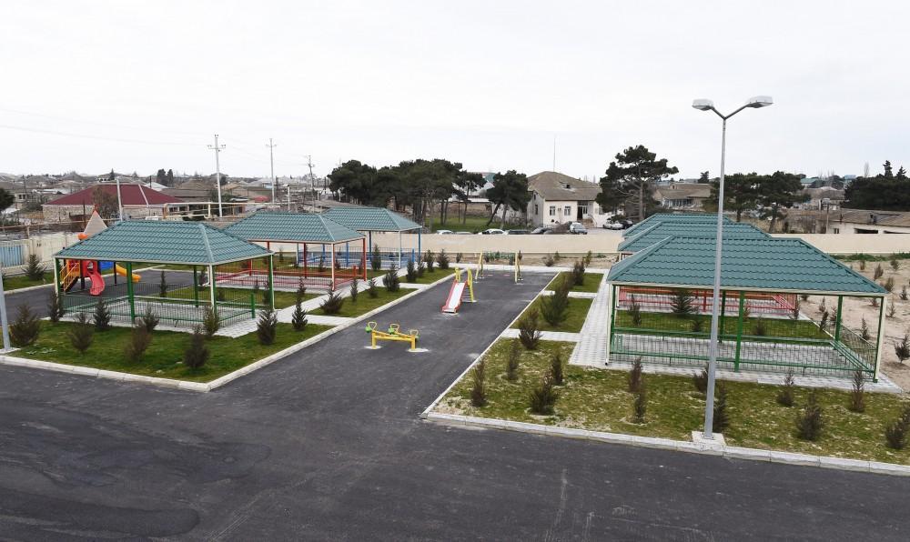 Первый вице-президент Мехрибан Алиева приняла участие в открытии нового здания яслей-детсада в Сабунчинском районе Баку (ФОТО) - Gallery Image
