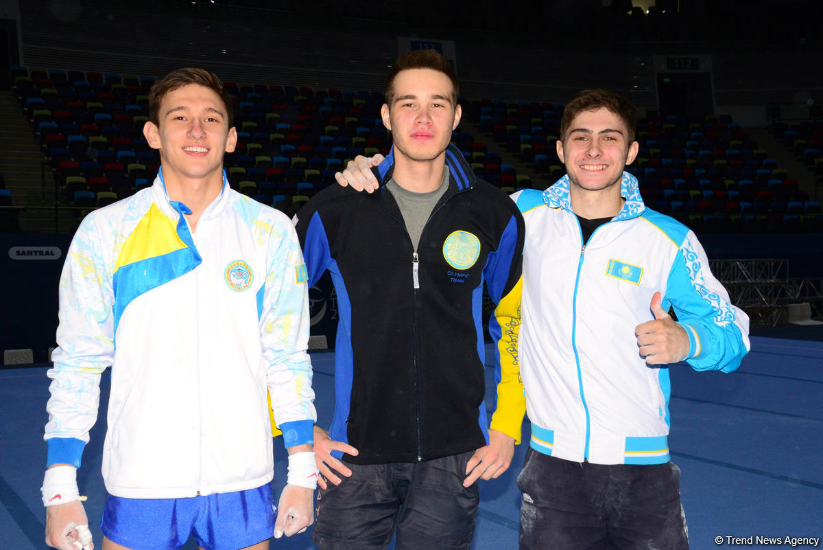 Kazakhs expect medals at Artistic Gymnastics World Cup in Baku (PHOTO) - Gallery Image