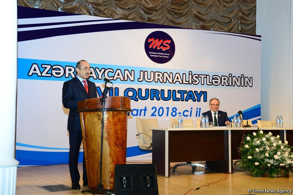 Official: Azerbaijan has good environment of partnership between journalism, government