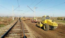 Продолжается капремонт железной дороги Баку - Бёюк-Кесик (ФОТО) - Gallery Thumbnail