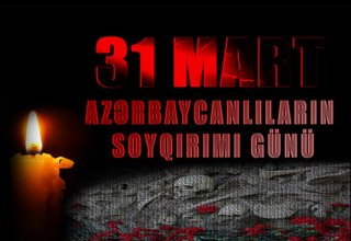 Azerbaijani ombudsperson releases statement related to  March 31- Day of Genocide of Azerbaijanis