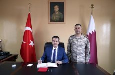 Turkish minister visits  country's military base in Qatar (PHOTO) - Gallery Thumbnail