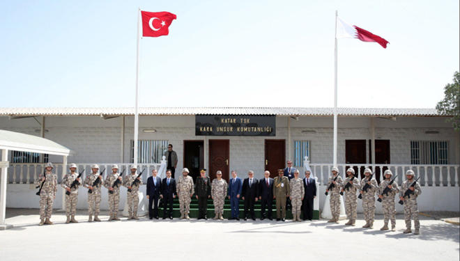Turkish minister visits  country's military base in Qatar (PHOTO) - Gallery Image