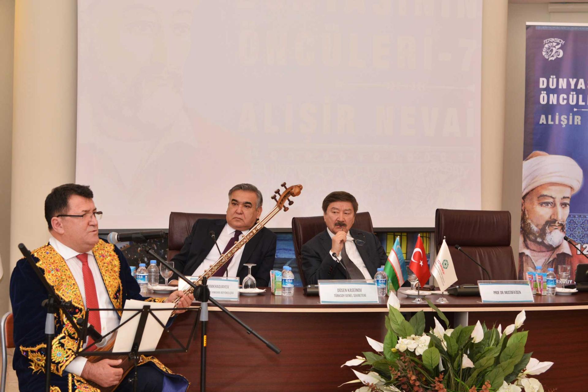 Türk Dünyası Öncüleri Konferansı: Özbek şair Alişir Nevai - Gallery Image