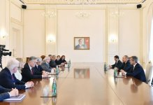 Ilham Aliyev receives co-chairs of Nizami Ganjavi International Center (PHOTO) - Gallery Thumbnail