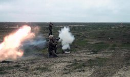 Live-fire exercises held during Azerbaijani army drills (PHOTO/VIDEO) - Gallery Thumbnail