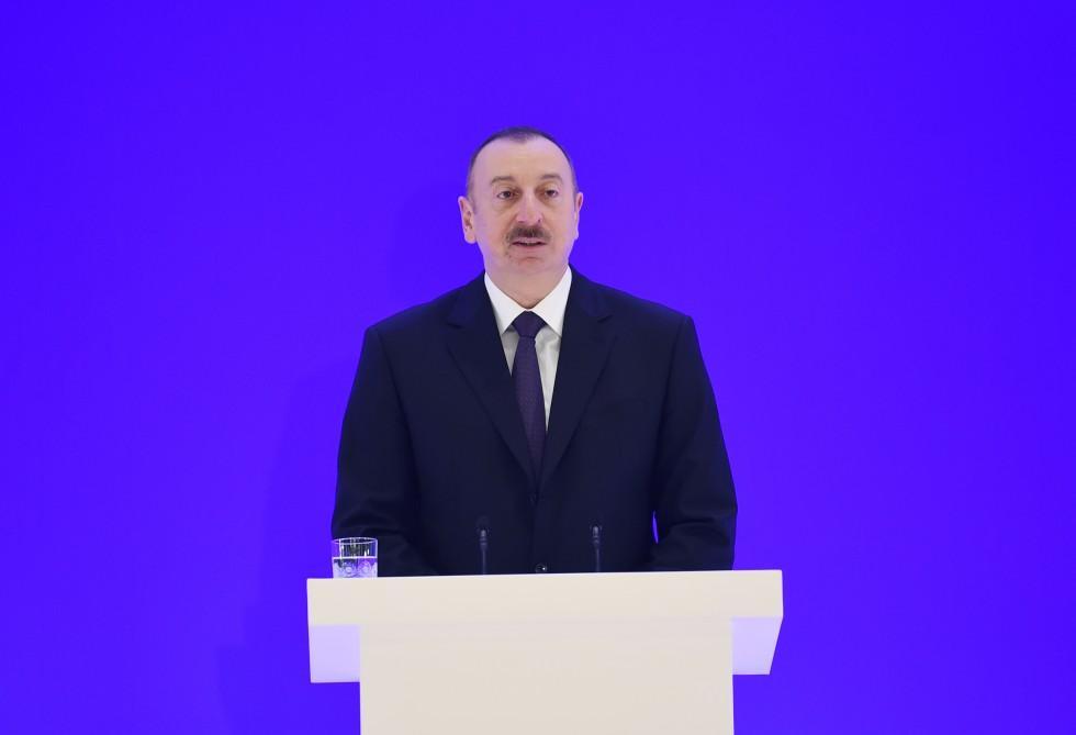 Президент Ильхам Алиев и его супруга приняли участие в VI Глобальном Бакинском форуме (ФОТО) - Gallery Image