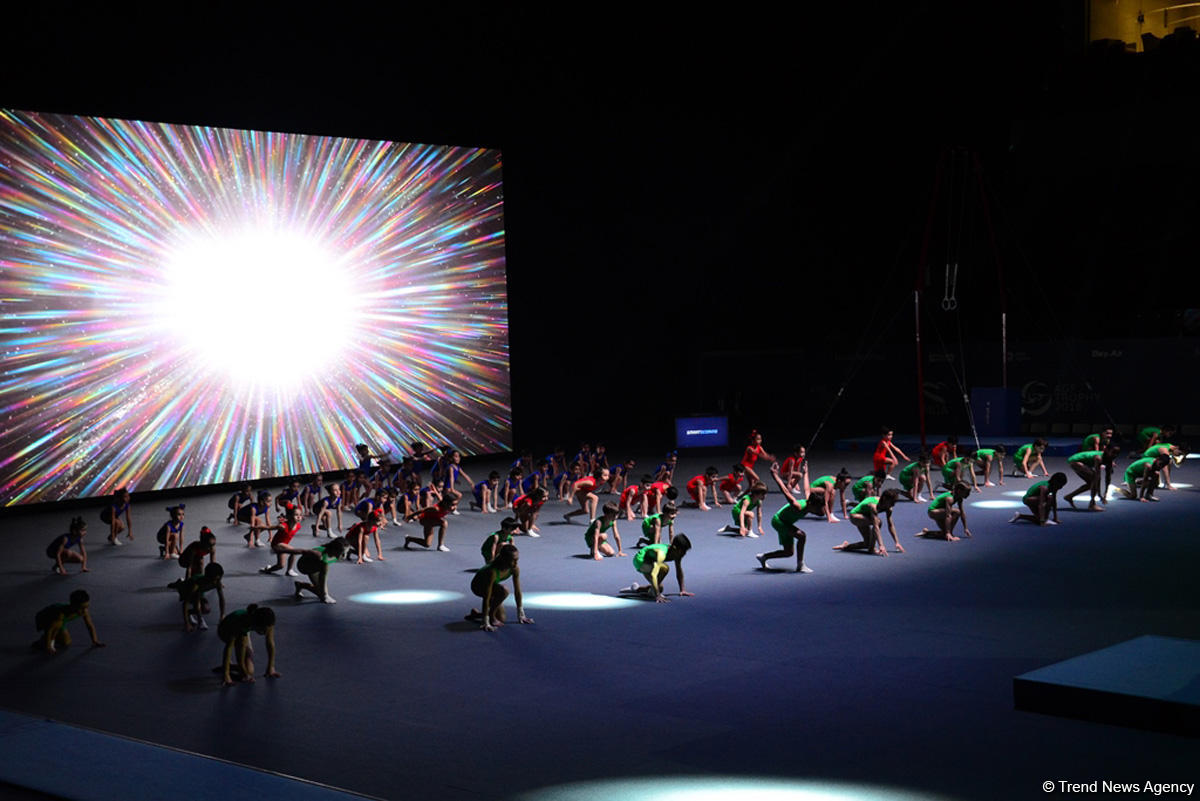 Baku holds opening ceremony of FIG Artistic Gymnastics World Cup (PHOTO) - Gallery Image