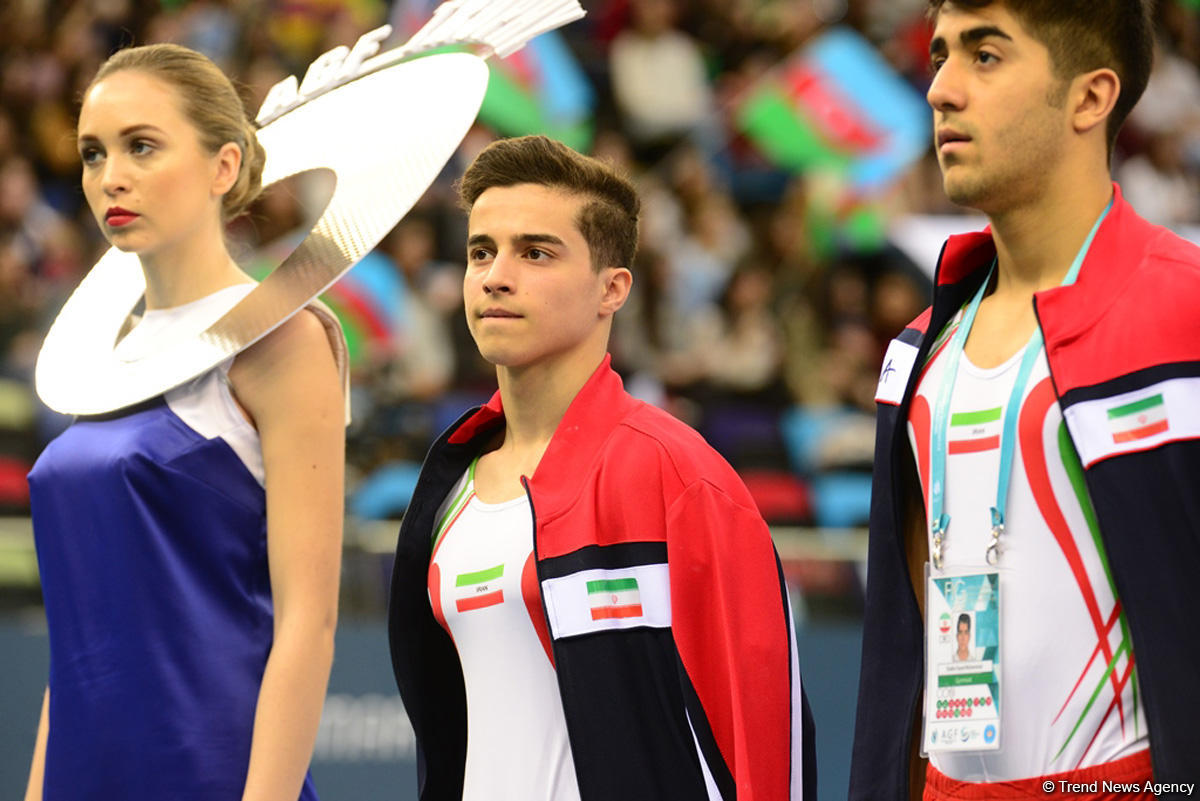 Bakıda İdman Gimnastikası üzrə Dünya Kuboku yarışlarının İLK GÜNÜ başladı (FOTO) - Gallery Image