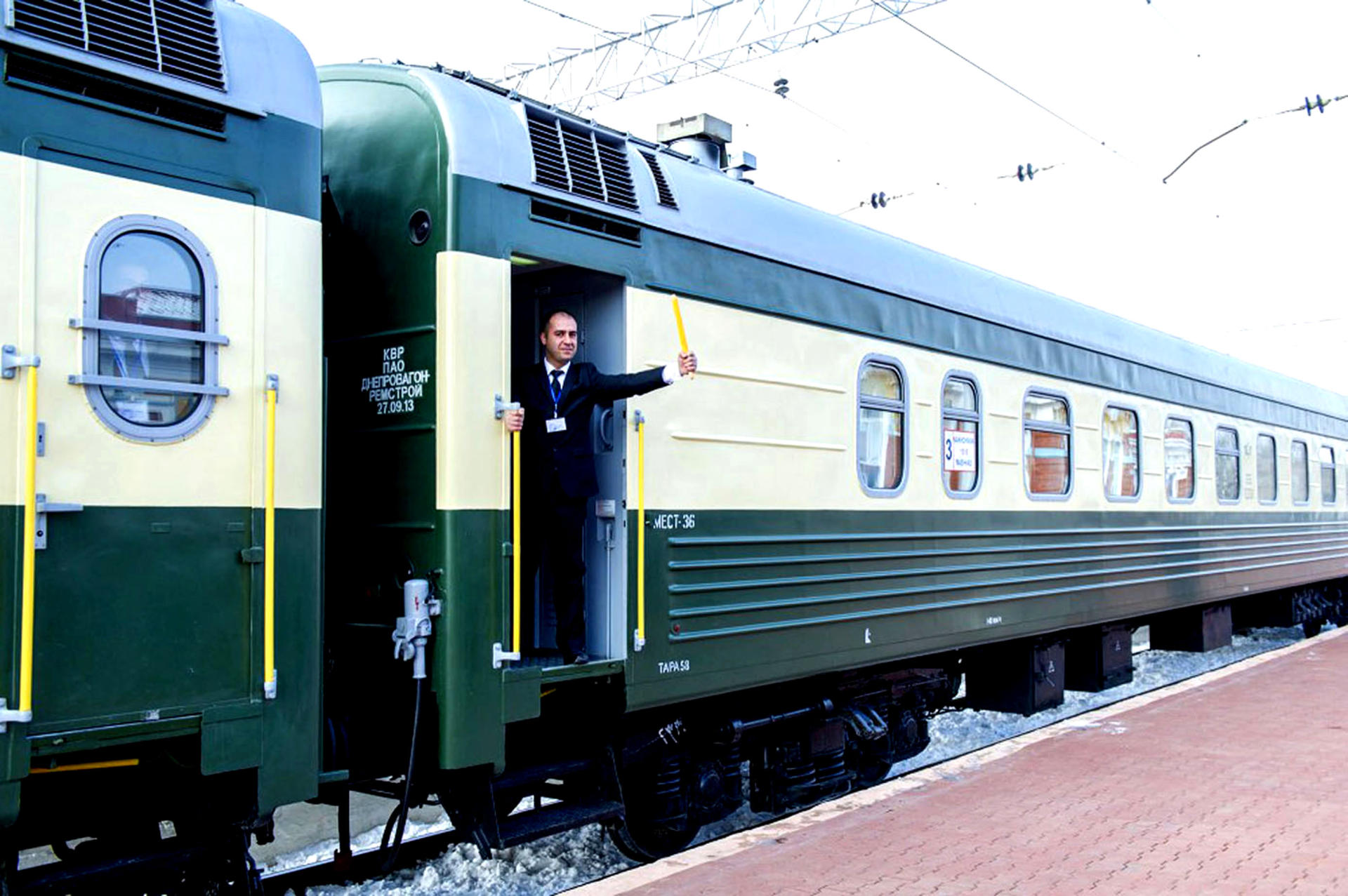 Schedule of Nakhchivan (Azerbaijan)-Mashhad (Iran) train to change