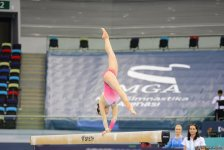Day 2 of FIG Artistic Gymnastics World Cup kicks off in Baku (PHOTO) - Gallery Thumbnail