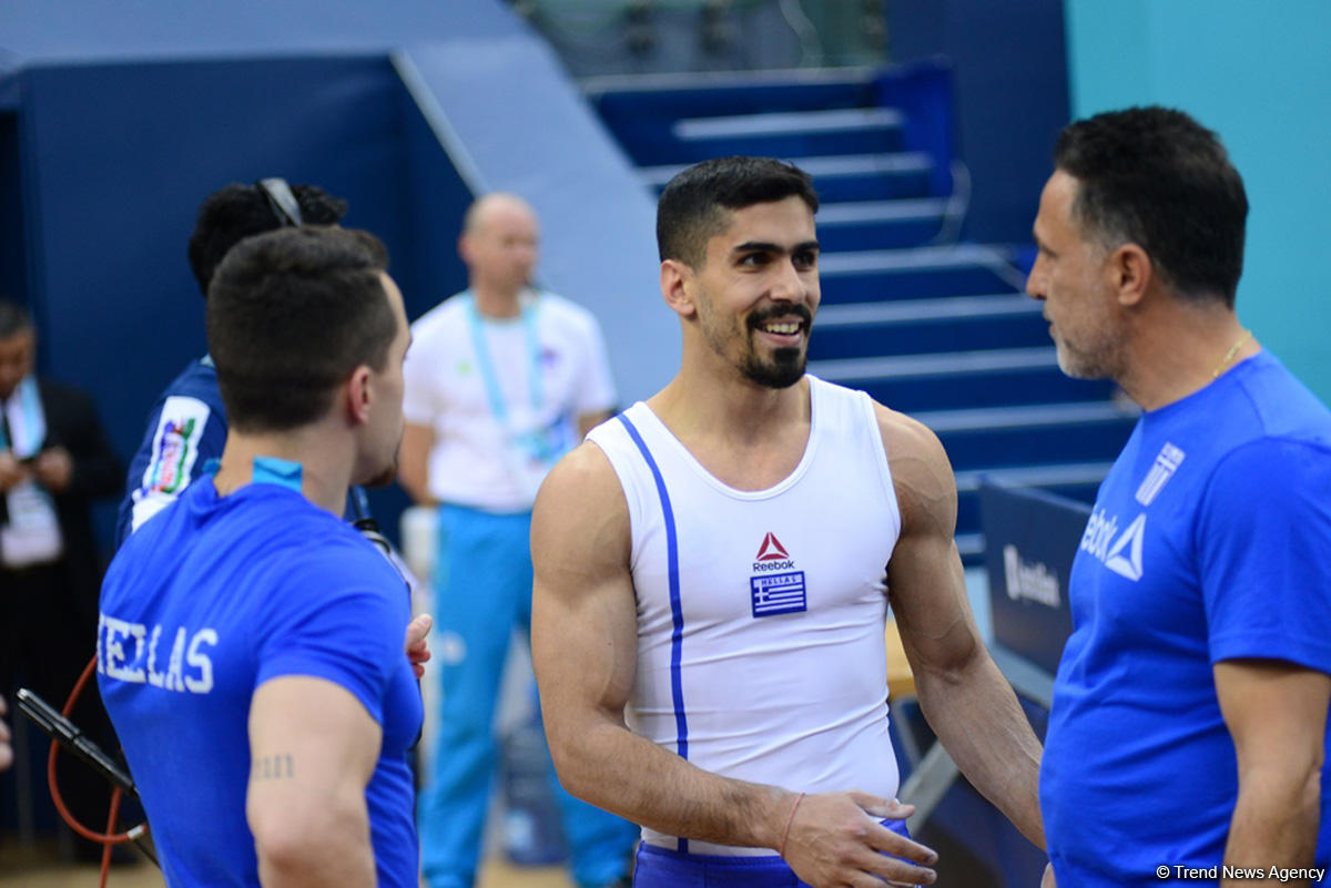 Day 2 of FIG Artistic Gymnastics World Cup kicks off in Baku (PHOTO) - Gallery Image