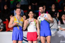 Baku hosts awarding ceremony of winners of first day of FIG Artistic Gymnastics World Cup (PHOTO) - Gallery Thumbnail