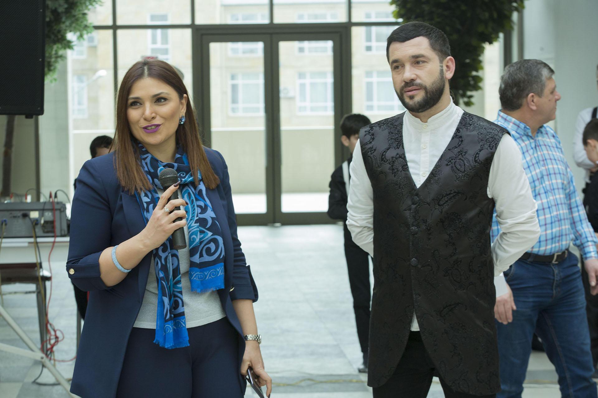 Bakı sərnişin stansiyasında Novruz şənliyi (FOTO) - Gallery Image