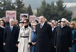 President Aliyev, First Lady Mehriban Aliyeva join nationwide Novruz festivities (PHOTO)
