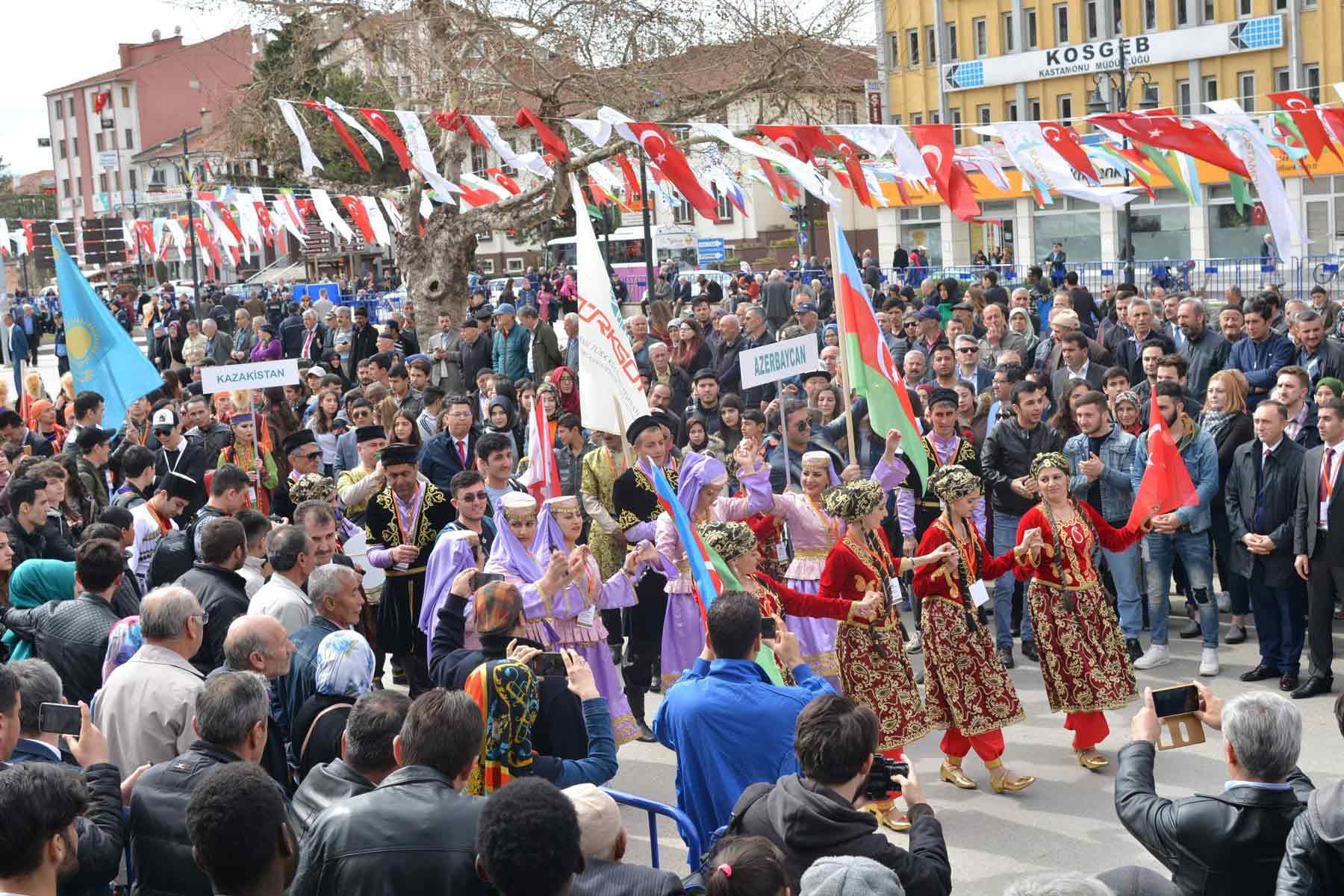 Türk Dünyası Kültür Başkenti Kastamonu'ya Muhteşem Açılış - Gallery Image