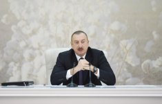 President Aliyev chairs cotton-growing conference in Barda (PHOTO) - Gallery Thumbnail