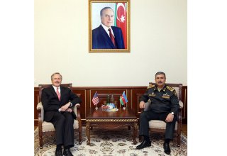 Azerbaijan, US mull issues of military co-op