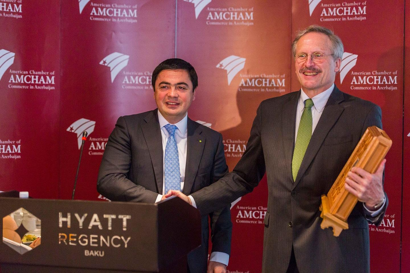 U.S. Ambassador to Azerbaijan Robert Cekuta meets AmCham members (PHOTO) - Gallery Image
