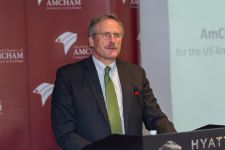 U.S. Ambassador to Azerbaijan Robert Cekuta meets AmCham members (PHOTO) - Gallery Thumbnail