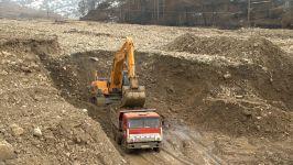 Dəmirçi-Lahıc avtomobil yolunun tikintisi davam edir (FOTO/VİDEO) - Gallery Thumbnail