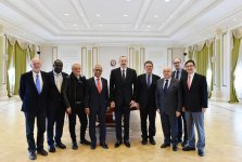 President Aliyev receives delegation of International Union of Architects (PHOTO) - Gallery Thumbnail