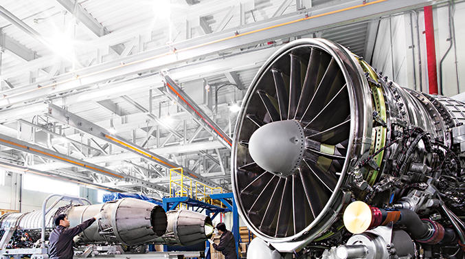 Iran launches production of aircraft engine parts