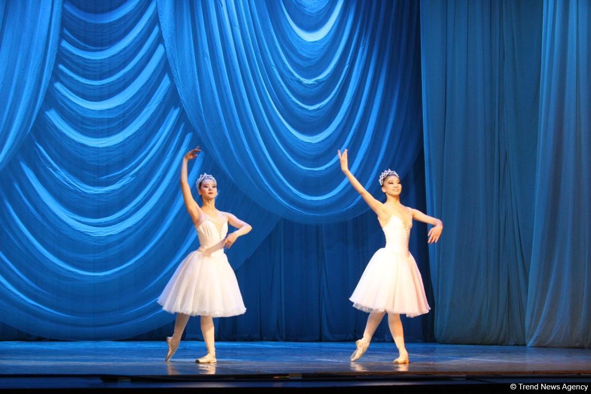 Пластичность и грация: гала-концерт учащихся Казахской национальной академии хореографии в Баку (ФОТО) - Gallery Image