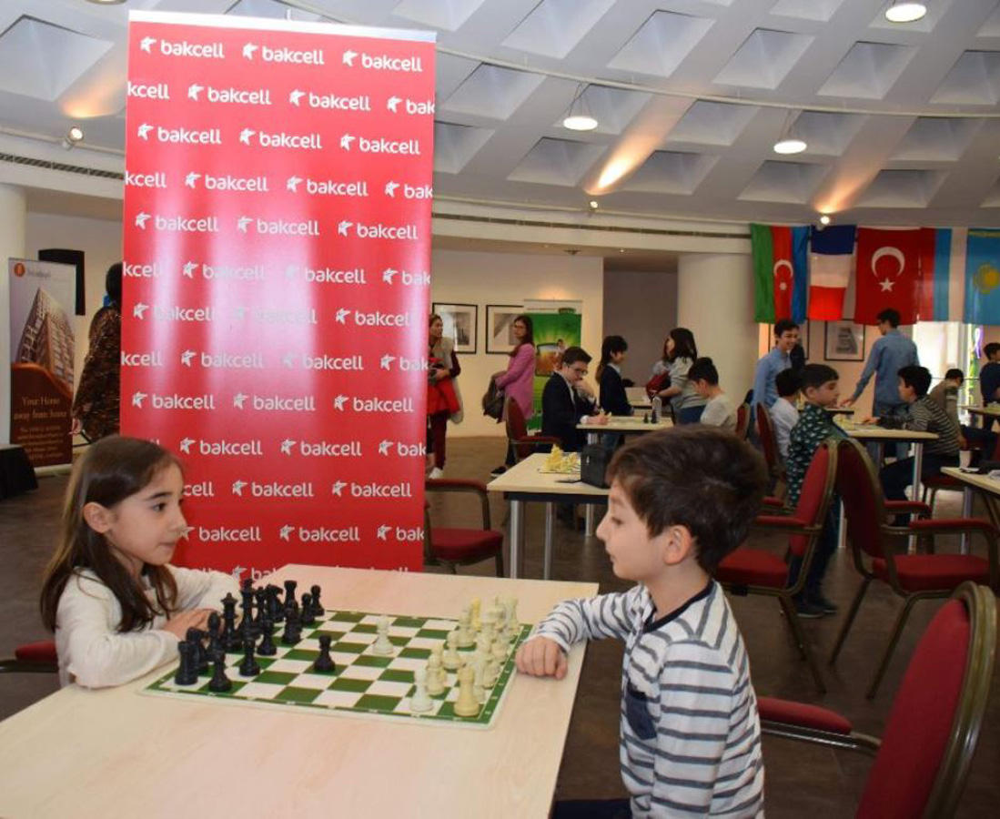 Bakcell supports int'l children's chess tournament (PHOTO) - Gallery Image