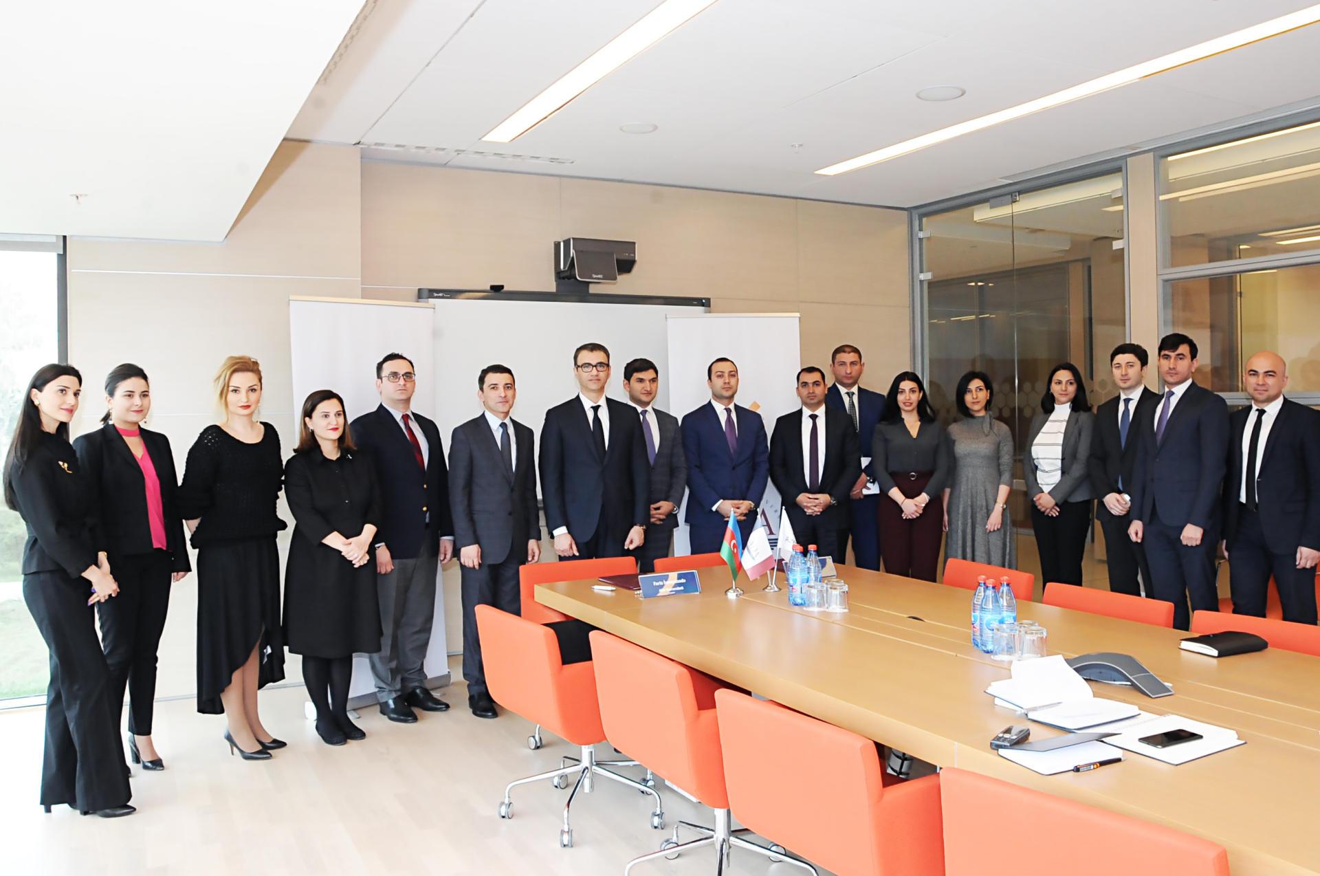 AzerGold и университет ADA подписали меморандум о сотрудничестве (ФОТО) - Gallery Image