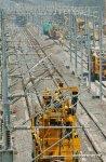 Работы по электрификации высокоскоростной ж/д Ханчжоу - Хуаншань (ФОТО) - Gallery Thumbnail