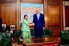 Indian FM names priority spheres of co-op with Azerbaijan (PHOTO) - Gallery Thumbnail