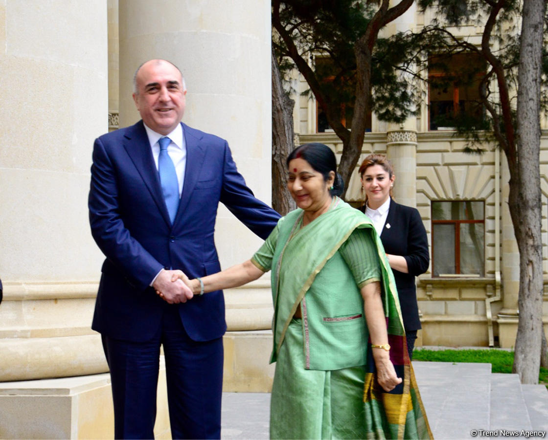 Indian FM names priority spheres of co-op with Azerbaijan (PHOTO) - Gallery Image