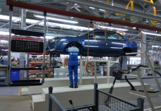 Date set for launch  of sales of Azerbaijani-Iranian cars