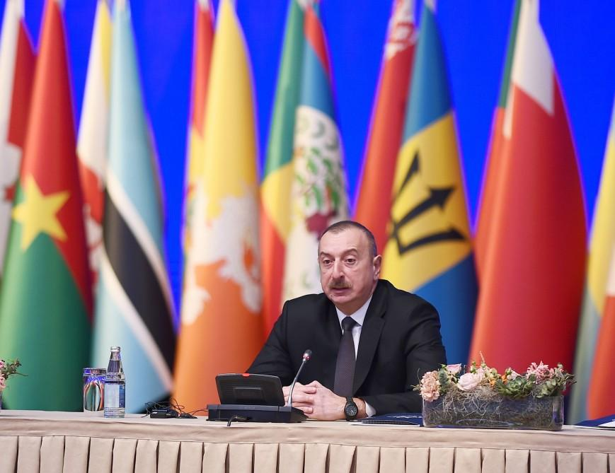 Ilham Aliyev: If Armenia was sanctioned, Karabakh conflict would've been resolved long ago