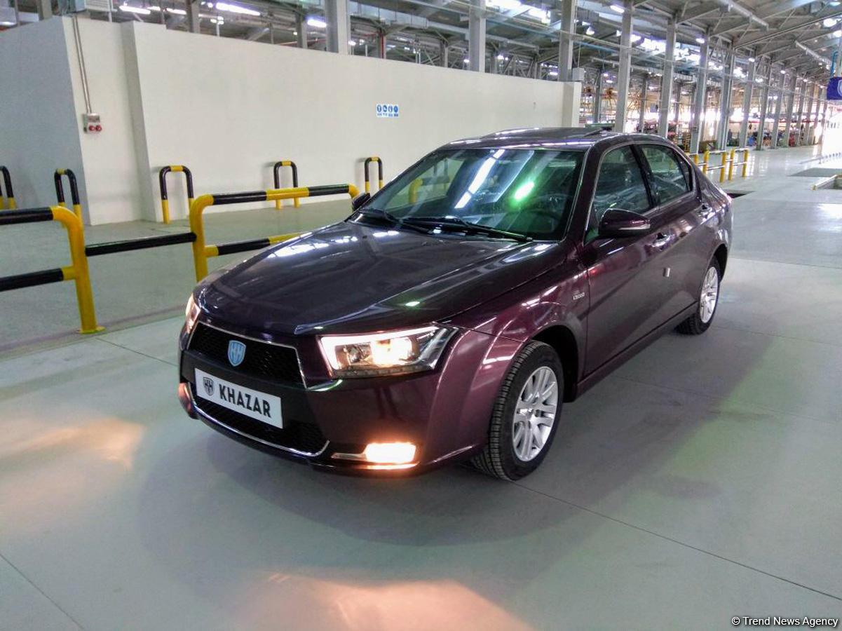 Azerbaijani-Iranian car plant manufactures first 100 cars