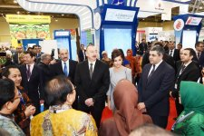 President Ilham Aliyev, First Lady Mehriban Aliyeva attend AITF 2018 fair (PHOTO) - Gallery Thumbnail