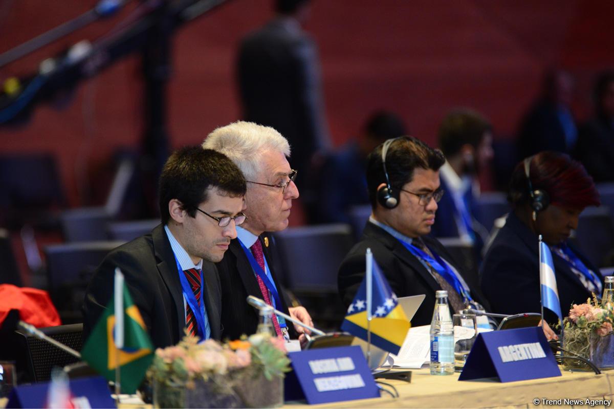 Принята Бакинская декларация промежуточной конференции глав МИД Движения неприсоединения (ФОТО) - Gallery Image