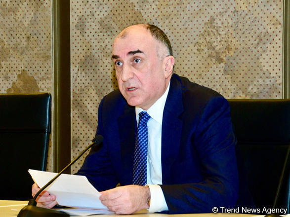 Azerbaijani FM: First step in resolving Karabakh conflict should be elimination of its major consequences