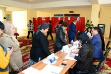 Voting in presidential election starts in Azerbaijan (PHOTO) - Gallery Thumbnail